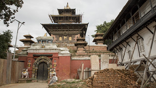 Earthquake Damaged Temple   by World Bank Photo Collection