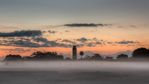 fortlauderdale fll kfll airport ground fog