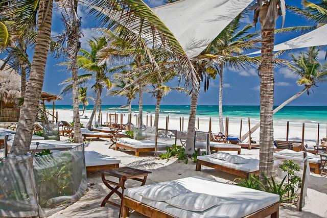 Playa Paraiso, Tulum, Riviera Maya,