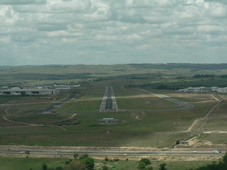 Lanseria Airport Runway, Johannesburg, South Africa