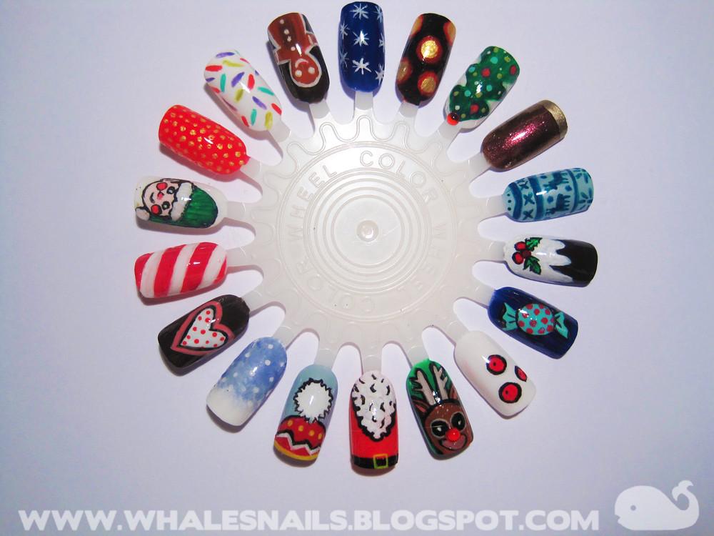 Nail Art Wheel Designs