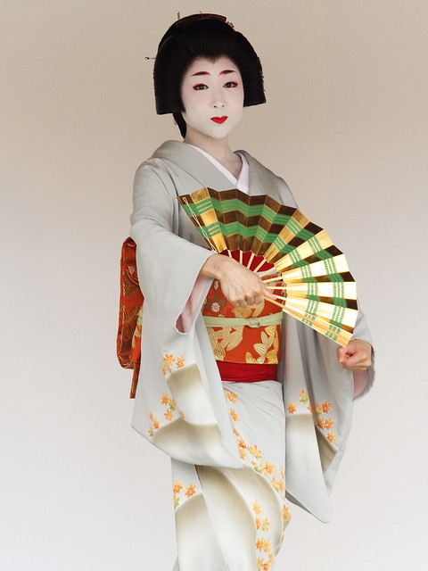 Kyoto Odori Performance. Geiko version  ---motion A---