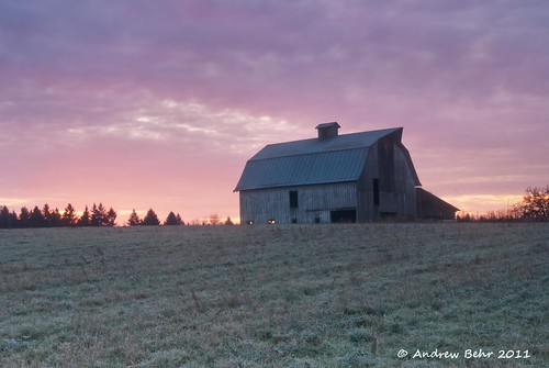 sky barn rural sunrise landscape dawn washington farm scenic pacificnorthwest openspace agriculture oldwood ridgefield