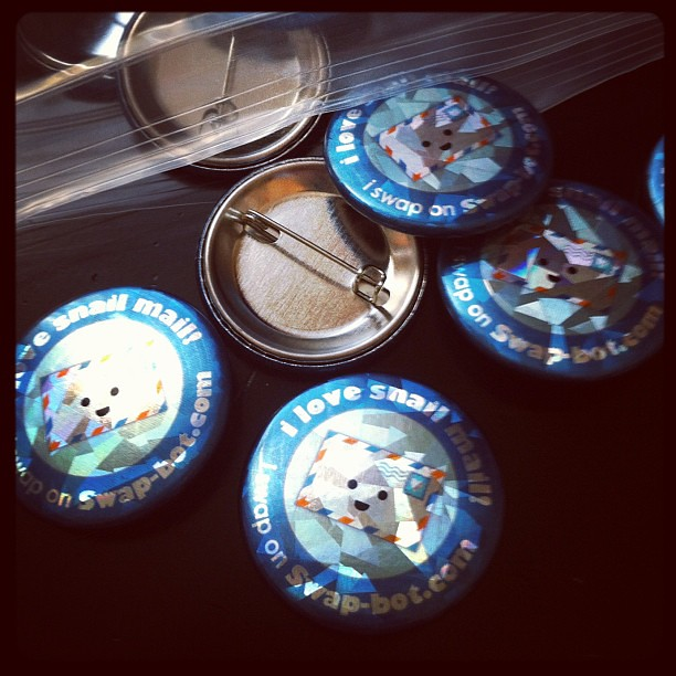 Cosmic Swap-bot buttons!