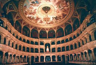 Budapest - Opera House Interior (Postcard)