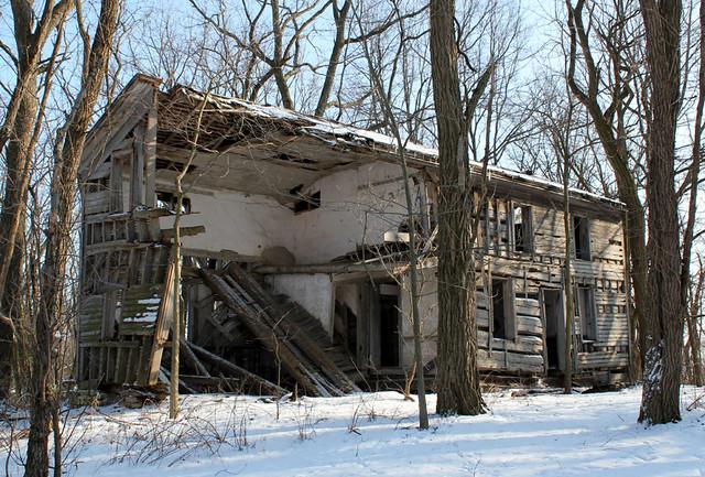 J. Spitler Log House - Seneca County, OH