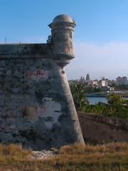 Torrete en La Cabaña. Habana, Cuba