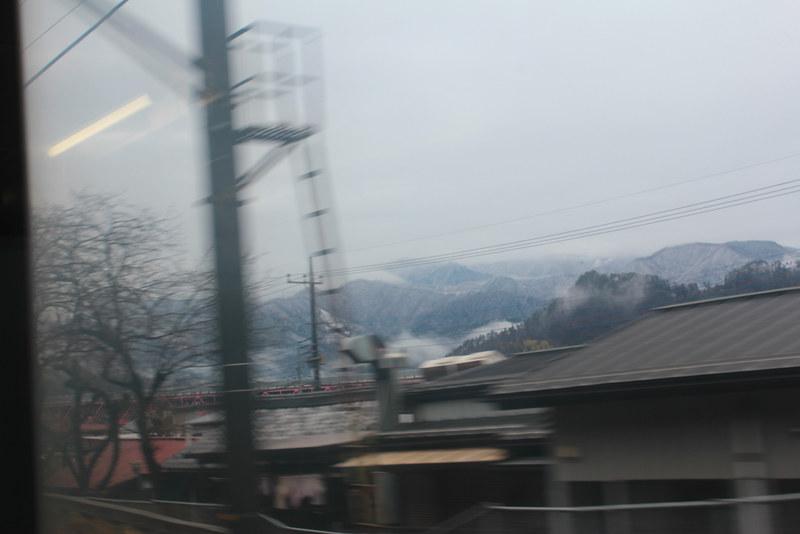 中央線からの景色