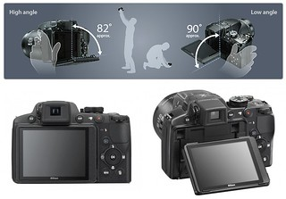 Nikon P510 - Tilting Rear LCD | by ** David Chin **