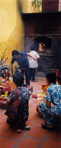 Fujian temple, Chinatown, Saigon