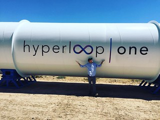 Today I visited Hyperloop One in the Las Vegas desert. Watch the video on Tech.Co | by Frank Gruber