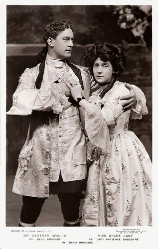 Bertram Wallis, Grace Lane