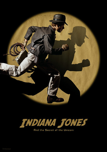 Indiana Jones and the Secret of the Unicorn Poster | by Avanaut