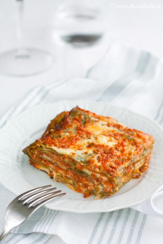 Ricetta Lasagne Verdi Alla Bolognese.Lasagne Verdi Alla Bolognese Recipe On Www Fiordifrolla Flickr