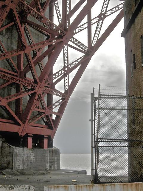 Under The Golden Gate Bridge At Fort Point