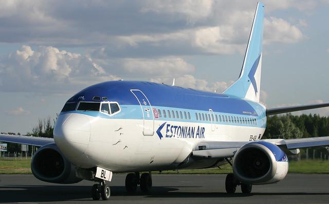 Estonian Air B737-500 ES-ABL