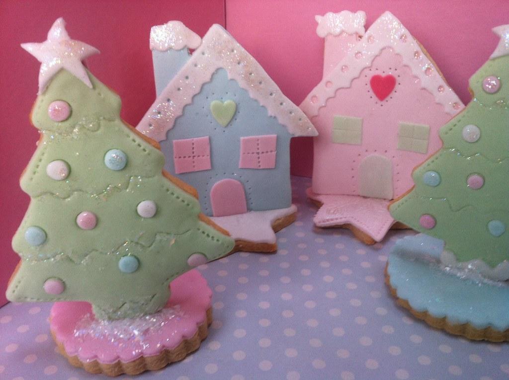 3d Christmas Cookies 3d Christmas Tree Gingerbread House Nila