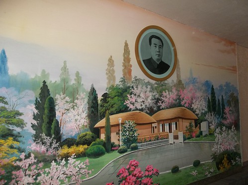 Kim Il-sung room Chongjin Primary School | by Ray Cunningham