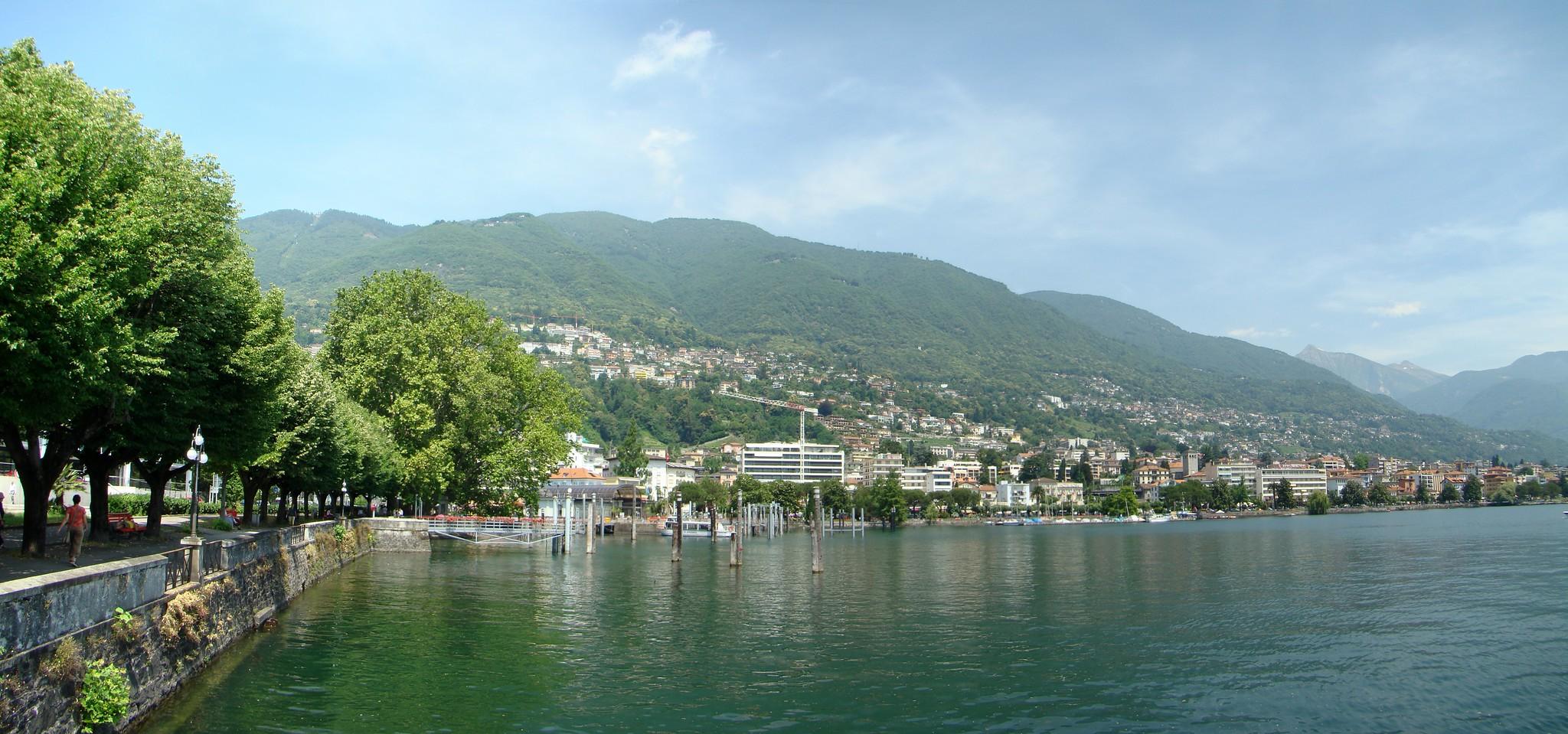 Suiza Locarno Lago Maggiore