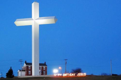 christmas cross indiana richmond happybirthday i70 us40 waynecounty nationalroad waynecountyindiana newcreations