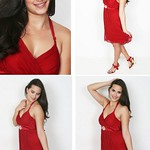 Alexandra Smith Red Dress275