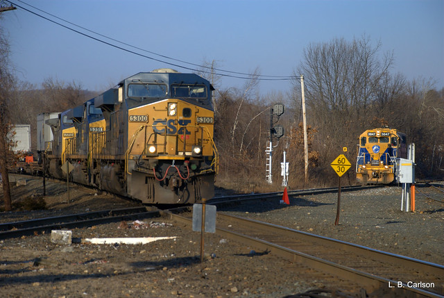 Eastbound TOFC and Containers
