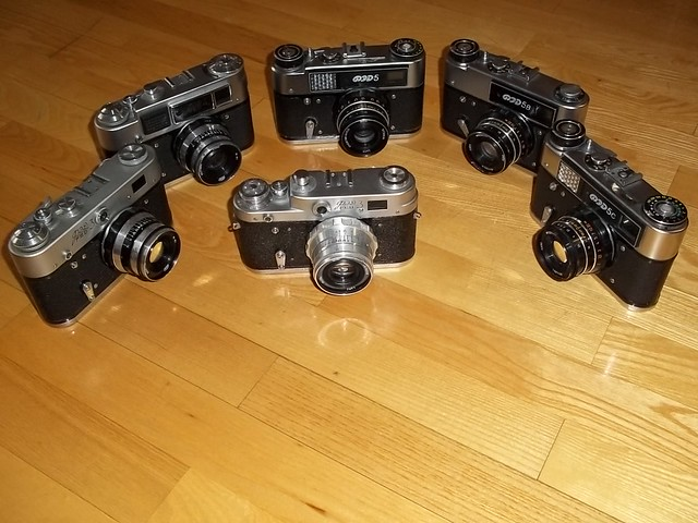Vintage Camera - FED Collection