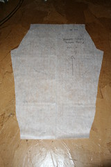 Simple Pajama Pants Tutorial  - Making the Pattern