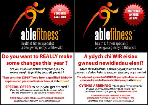 Able Fitness JANUARY SPECIAL OFFER on Personal Training | by Carol Mead