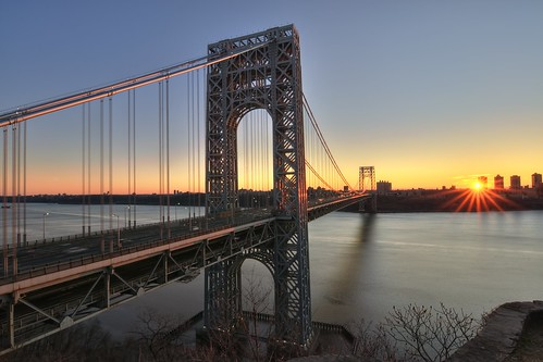 nyc newyorkcity longexposure bridge sun newyork sunrise geotagged newjersey manhattan nj gothamist georgewashington hdr gwb fortlee starburst georgewashingtonbridge washingtonheights nuevayork cidadedenovayork mudpig stevekelley ньюйорк ニューヨーク市 纽约市 νέαυόρκη مدينةنيويورك lavilledenewyork stevenkelley شهرنیویورک เมืองนิวยอร์ก న్యూయార్క్సిటీ עירניויורק