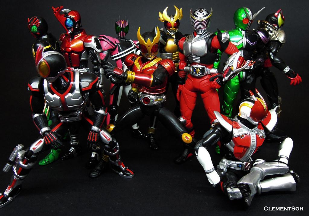 Heisei Riders | S H Figuarts Heisei Kamen Riders | Clement