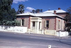 Doctor Dawes house on Lyndoch Road, just prior to demolition in 1973.