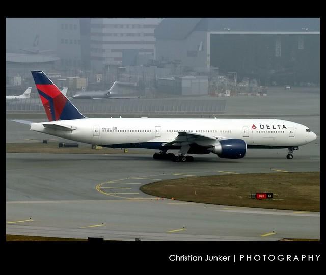 B777-232/LR   Delta Air Lines   N706DN   HKG