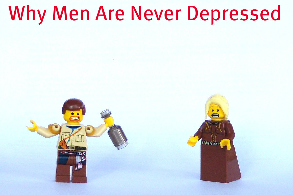 Why Men Are Never Depressed