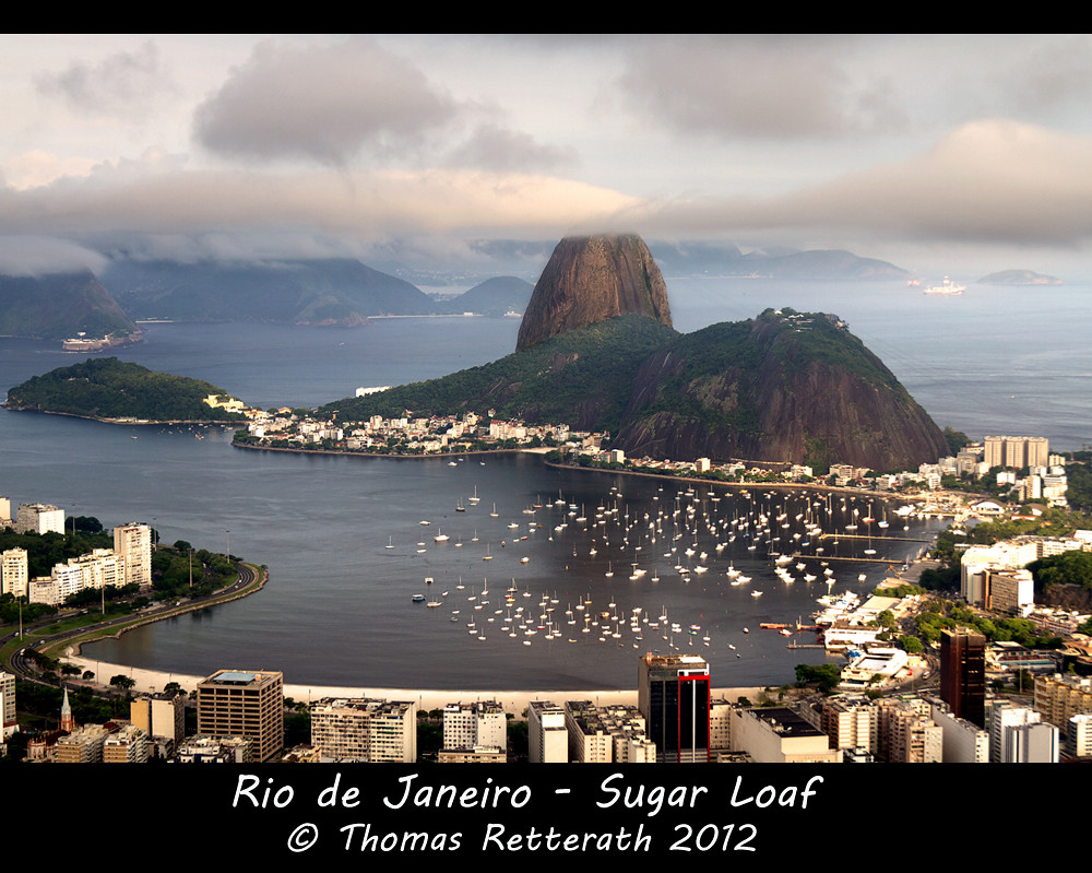 Sugar Loaf with topping