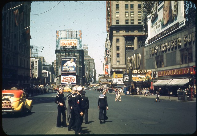 Times Square, May 1944