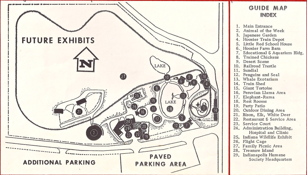 Indianapolis Zoo Map 1965 | Evan Finch | Flickr on indianapolis indians map, lafayette square mall map, center township indianapolis map, southern adventures map, the hill saint-louis map, broad ripple map, virginia zoological park map, black pine animal park map, jw marriott indianapolis map, indiana map, lucas oil raceway park map, zoo atlanta map, point defiance zoo & aquarium map, sea life park hawaii map, downtown indianapolis canal walk map, castleton square map, downtown indy map, pro player stadium map, ncaa headquarters map, wildlife safari map,