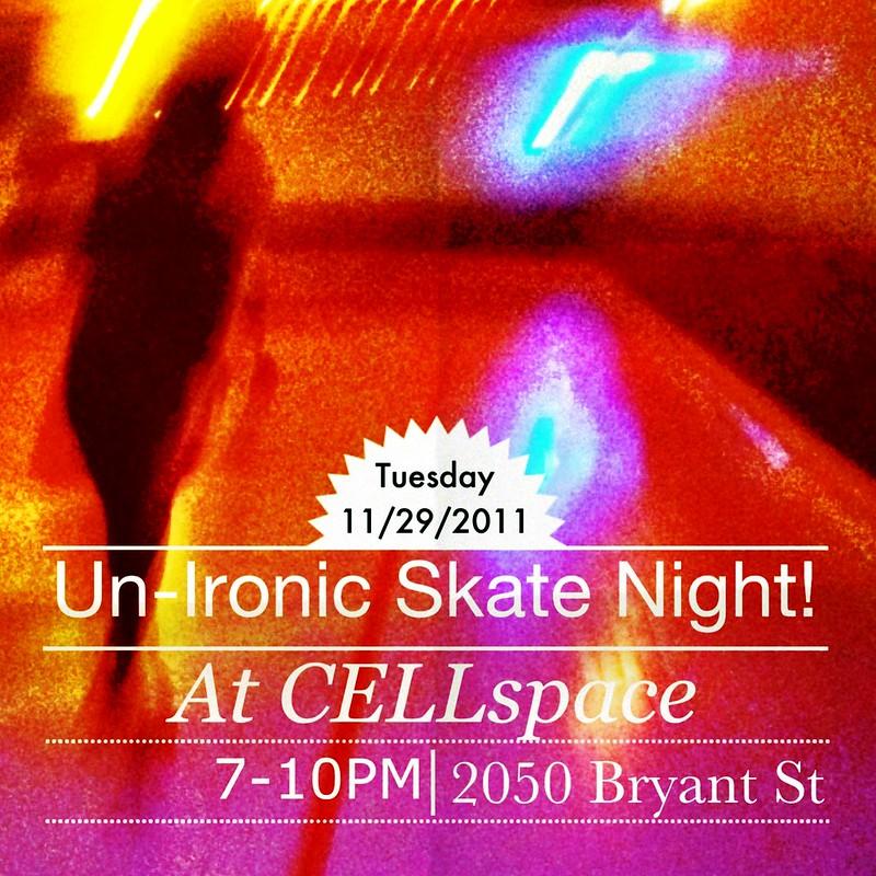 Un-Ironic Skate Night!