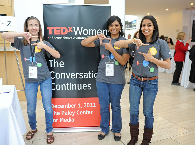 TEDxWomen Reception