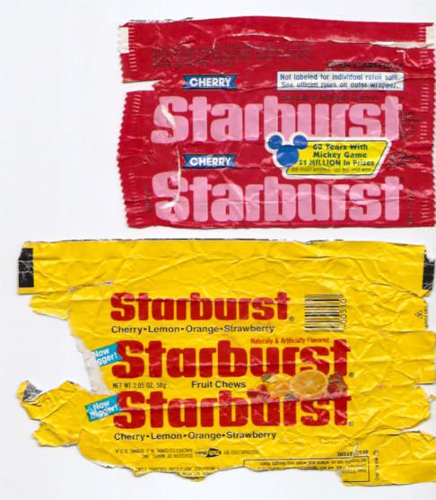 Old Starburst Fruit Chews Candy Wrappers   Gregg Koenig   Flickr