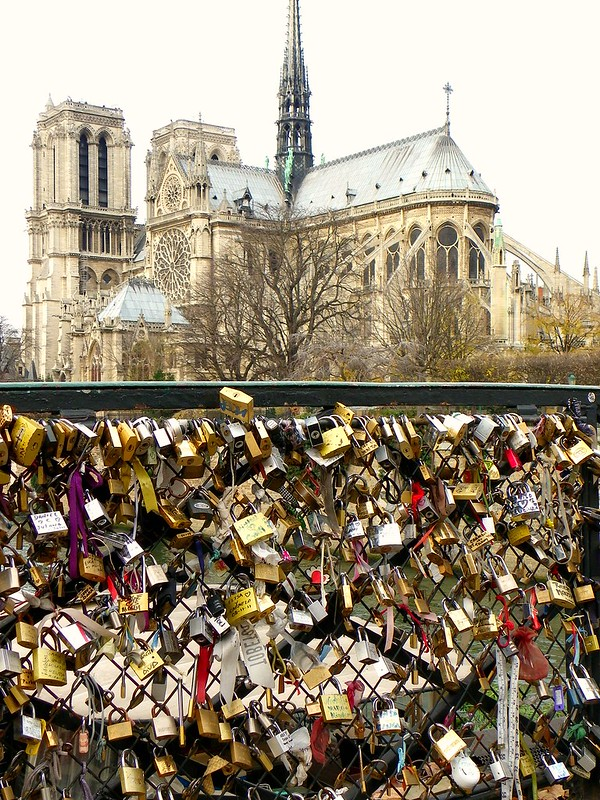 The locks of love, Paris