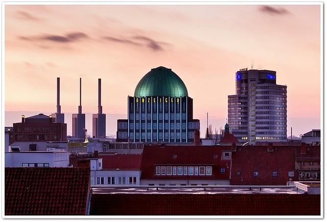Über den Dächern von Hannover (Explored)