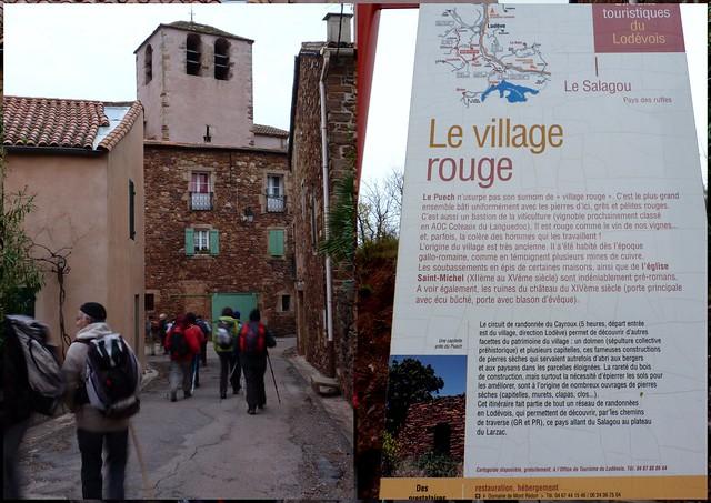 Le village rouge