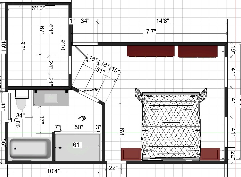 Bathroom Floor Plans 8x10 | Bathroom Design