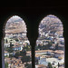 Výhled z oken Alhambry, foto: Mirka Baštová