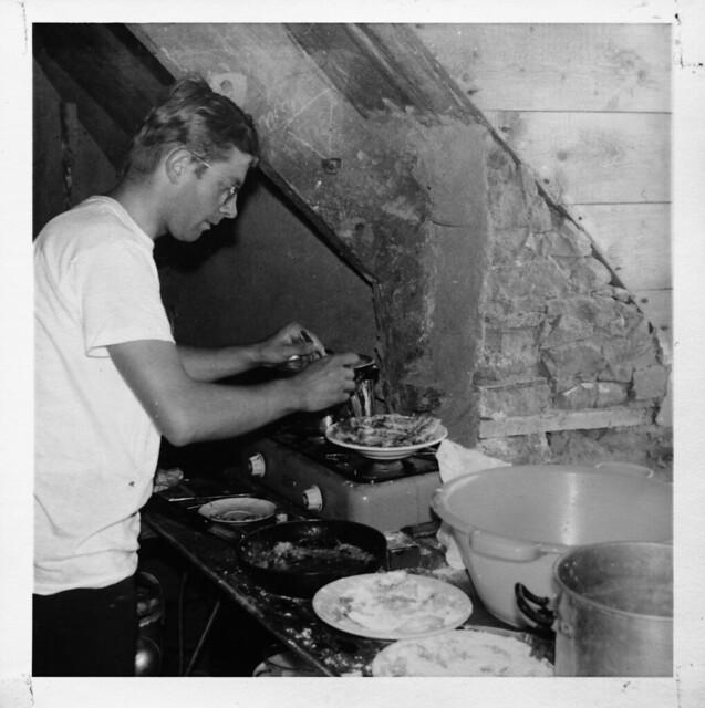 Bretagne, Plougasnou, Sommer 1968