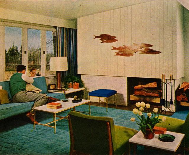Color harmony, Mid Century Modern