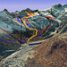 Saas-Fee - Allalin, foto: www.ski-map.net