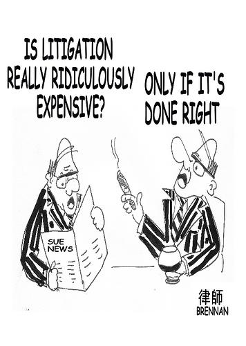 Litigation Cartoon