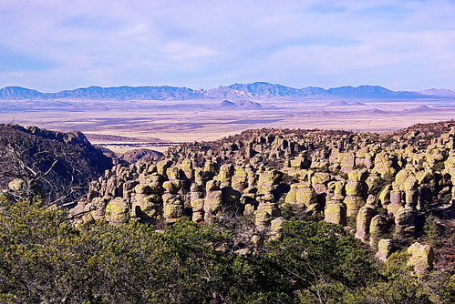Massai Point - view to west - Chiricahua National Monument | by Al_HikesAZ